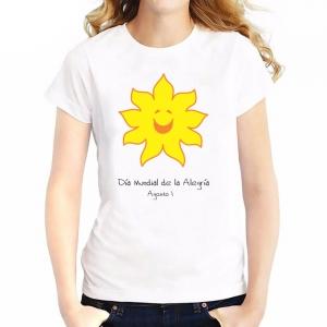 Camiseta oficial Pro Fondos del Día Mundial de la Alegría - Arti - Tienda de arte y diseño