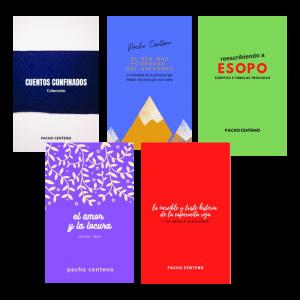 Cuentos Confinados de Pacho Centeno - Libro digital  - Arti - Tienda de arte y diseño