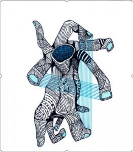 Dibujo del Maestro Miguel Ángel Gélvez Ramírez - Corporal 8/20 - Arti - Tienda de arte y diseño