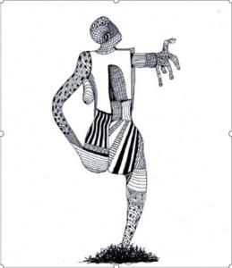 Dibujo del Maestro Miguel Ángel Gélvez Ramírez - Corporal 6/20 - Arti - Tienda de arte y diseño