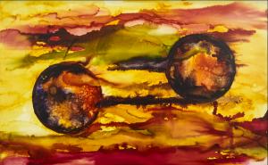 Obra  de Maestro Joan Suarez - Presagio - Arti - Tienda de arte y diseño