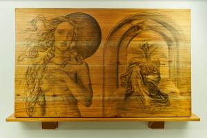 Obra  de Maestro Joan Suarez - Perdida del Estómago Literario - Arti - Tienda de arte y diseño