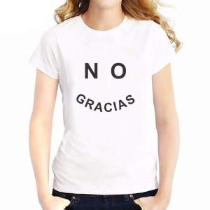 Camiseta -NO GRACIAS - Arti - Tienda de arte y diseño