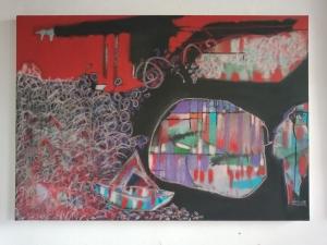 Obra de Maestro César Chaparro - Reflejos - Arti - Tienda de arte y diseño