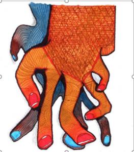 Dibujo del Maestro Miguel Ángel Gélvez Ramírez - Corporal  9/20 - Arti - Tienda de arte y diseño