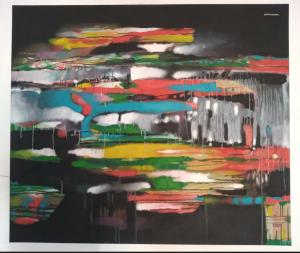 Obra de Maestro César Chaparro - Perfilamiento - Arti - Tienda de arte y diseño