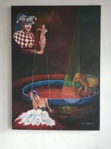 Obra  de Maestra Adriana Pilonieta - Circo - Arti - Tienda de arte y diseño