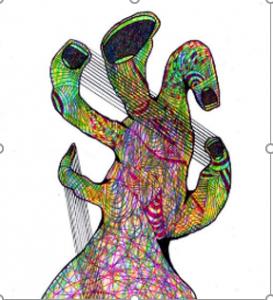 Dibujo del Maestro Miguel Ángel Gélvez Ramírez - Corporal 3/20 - Arti - Tienda de arte y diseño