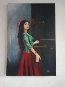 Obra  de Maestra Adriana Pilonieta - Gitana - Arti - Tienda de arte y diseño